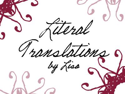 LiteraryTranslation